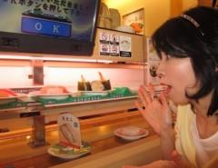 石川恵深 公式ブログ/初!「かっぱ寿司」で、オーダーに挑戦 & 明日はエミコメ!(^^)! 画像2