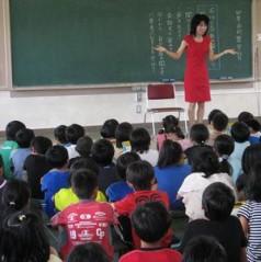 石川恵深 公式ブログ/地元小学校へ朗読&指導 (安城市立安城中部小学校) !(^^)! 画像2