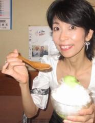 石川恵深 公式ブログ/ずんだミルクかき氷 (仙台)&明日はエミコメ(^^) 画像1