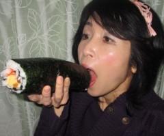 石川恵深 公式ブログ/恵深チョークアートで福は内!(^^)! 画像1