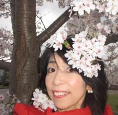 石川恵深 公式ブログ/こちら桜満開(岡崎城のある公園)&エミコメ!(^^)! 画像3