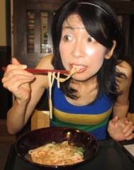 石川恵深 公式ブログ/冷やし坦々うどん(なか卯) 画像3