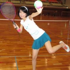 石川恵深 公式ブログ/初!ミニテニス 画像2