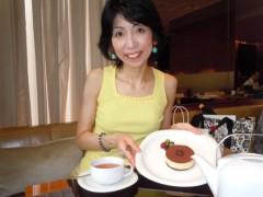 石川恵深 公式ブログ/銀座グッチカフェ(GUCCI Cafe)でスイート 画像1