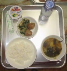 石川恵深 公式ブログ/50歳で食べた給食&エミコメ!(^^)! 画像1