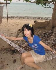 石川恵深 公式ブログ/海辺のハンモック&明日は忘年会で浜名湖で1泊 画像2