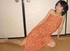 石川恵深 公式ブログ/唐草模様の風呂敷で包む 画像3