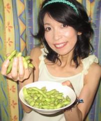 石川恵深 公式ブログ/縁側で枝豆 (^^) 画像1