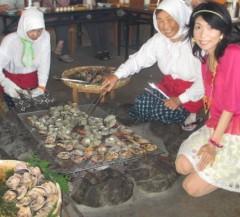 石川恵深 公式ブログ/海女小屋料理体験 (三重県鳥羽市)&明日はエミコメ(^^) 画像1
