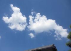 石川恵深 公式ブログ/空を見てたら… 画像1