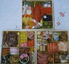 石川恵深 公式ブログ/恵深チャンちの2012年おせち 画像1