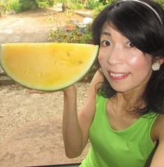 石川恵深 公式ブログ/黄色いスイカ&エミコメ!(^^)! 画像1