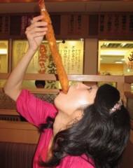 石川恵深 公式ブログ/日本一!35cm海老☆海老どて食堂 画像2