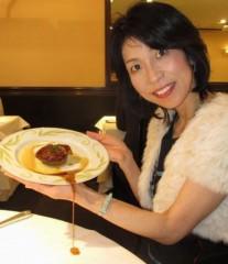 石川恵深 公式ブログ/フレンチレストランで料理を…(-_-;) 画像1