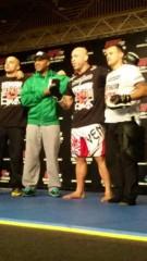 市川勝也 公式ブログ/UFC JAPAN 会見+ ワークアウト 画像1