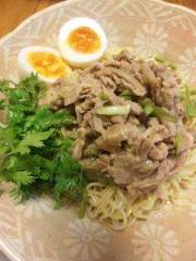 市川勝也 公式ブログ/麺類好き・トンコツ+ 胡麻醤油味 画像1