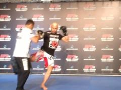 市川勝也 公式ブログ/UFC JAPAN 会見+ ワークアウト 画像2