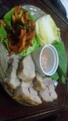 市川勝也 公式ブログ/韓国料理は 画像1