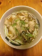 市川勝也 公式ブログ/温かい蕎麦。 画像1