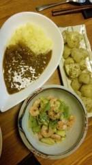 市川勝也 公式ブログ/夕飯・カレーライス。 画像1