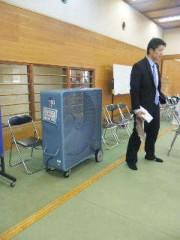 市川勝也 公式ブログ/特大扇風機 画像1