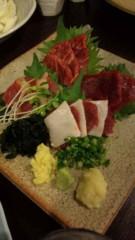 市川勝也 公式ブログ/モツ鍋・馬刺し。 画像2