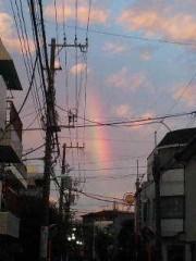 市川勝也 公式ブログ/週末はDRAGON GATE+ 虹の空 画像1