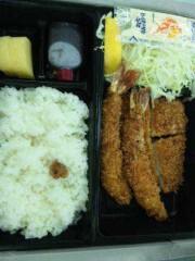 市川勝也 公式ブログ/弁当はヒレカツ+UFC 収録。 画像1