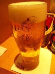 市川勝也 公式ブログ/おつかれさんのビール 画像1