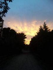 市川勝也 公式ブログ/週末はDRAGON GATE+ 虹の空 画像2