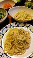 市川勝也 公式ブログ/スパゲティはカルボナーラを 画像1