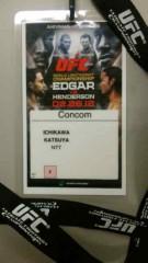市川勝也 公式ブログ/UFC日本大会・終了。 画像1