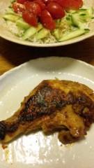 市川勝也 公式ブログ/タンドリーチキン+ 秋の味覚 画像1