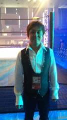市川勝也 公式ブログ/DRAGON GATE 菊地リングアナウンサー。 画像1