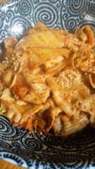 市川勝也 公式ブログ/食事は豚キムチ丼・ 画像1