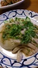 市川勝也 公式ブログ/タイ料理をピータンに・合う。 画像1