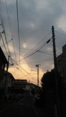 市川勝也 公式ブログ/日没時間。 画像1