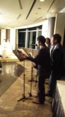市川勝也 公式ブログ/結婚式3。 画像1