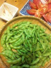 市川勝也 公式ブログ/枝豆・トマト・夏野菜 画像1