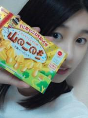 杉原枝利香(りンご) 公式ブログ/たけのこの里マンゴー味ときのこの山バナナ味 画像2