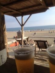 川越塔子 公式ブログ/ サンセットビーチパーティーなう 画像1