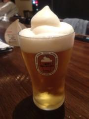 川越塔子 公式ブログ/フローズン生ビール 画像1