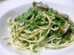 川越塔子 公式ブログ/青海苔のスパゲッティ 画像2