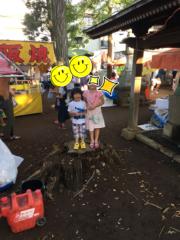 高野早苗 公式ブログ/Rちゃん&お祭り 画像2