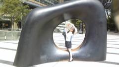 白井佐奈 公式ブログ/ 街中の様々なモニュメントシリーズ★(笑)千疋屋でラブリーな 画像2