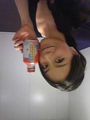 白井佐奈 公式ブログ/ 暑くて、ついつい…杏仁シェイク〜!?(笑) 画像1
