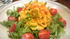 白井佐奈 公式ブログ/ さなちゃん特製かぼちゃと豆腐のたっぷりサラダ♪♪ 画像2