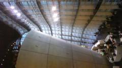 白井佐奈 公式ブログ/ そう!新国立美術館♪外観のウェーブの独特なフォルムから中に 画像1