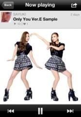 SAYUKI 公式ブログ/新曲Only you Ver.E歌詞&試聴!! 画像1