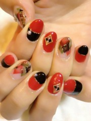 SAYUKI 公式ブログ/冬の赤黒ネイル! 画像2